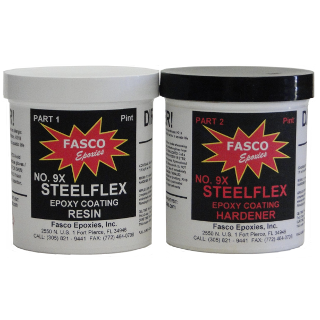 Fasco 9XC Steel Flex Epoxy Coating Clear