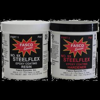 Fasco 9XC Steel Flex Epoxy Coating Clear