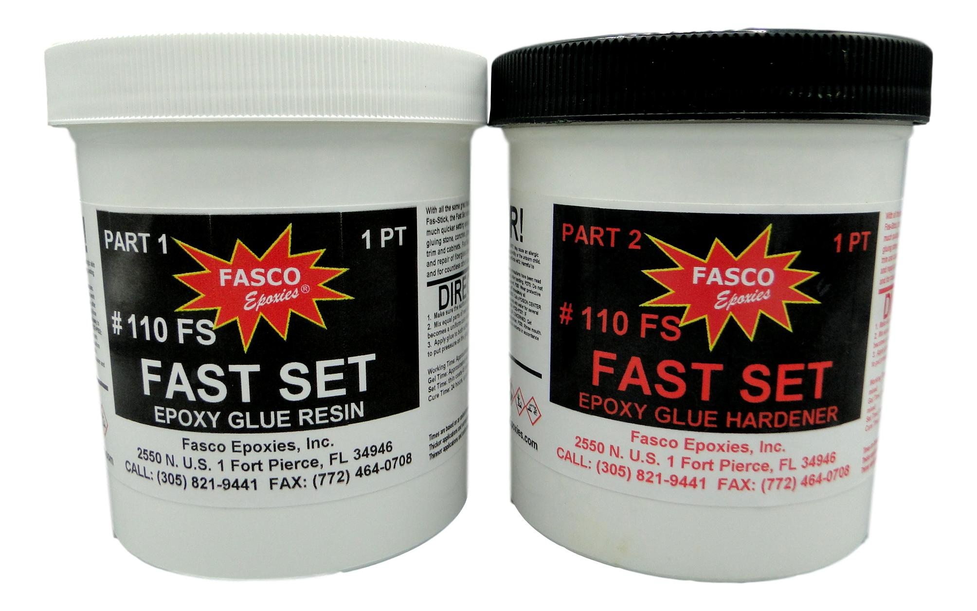 Fasco 110 Fast Set Epoxy Glue