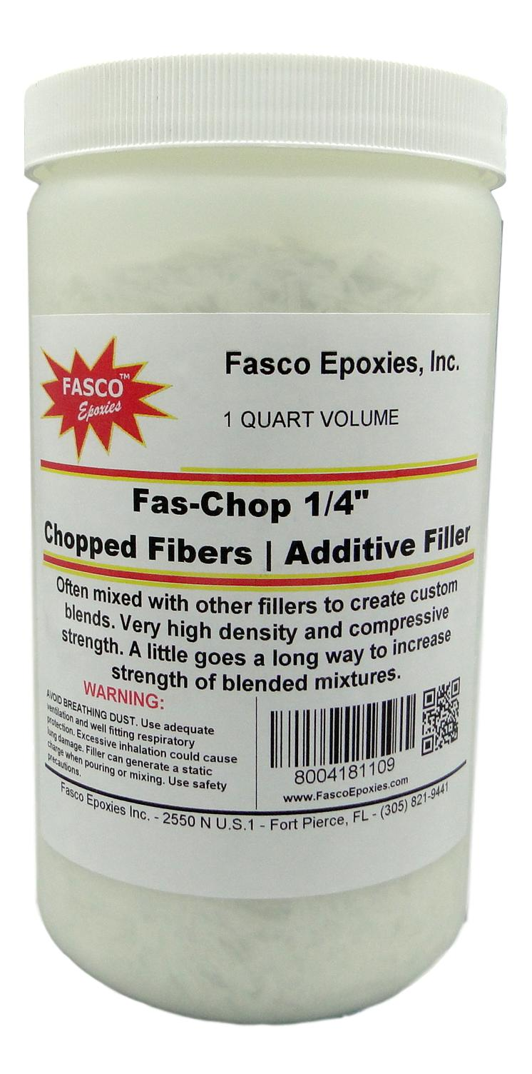 "Fasco 1/4"" Chopped Fibers"