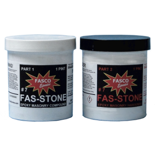 7 Fas-Stone Epoxy Patching Compound