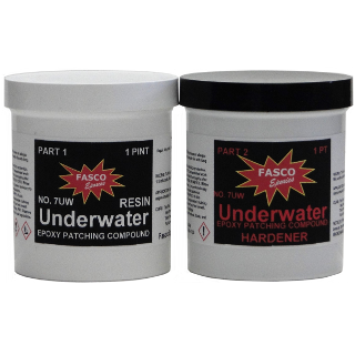 Fasco 7uw Underwater Epoxy Paste